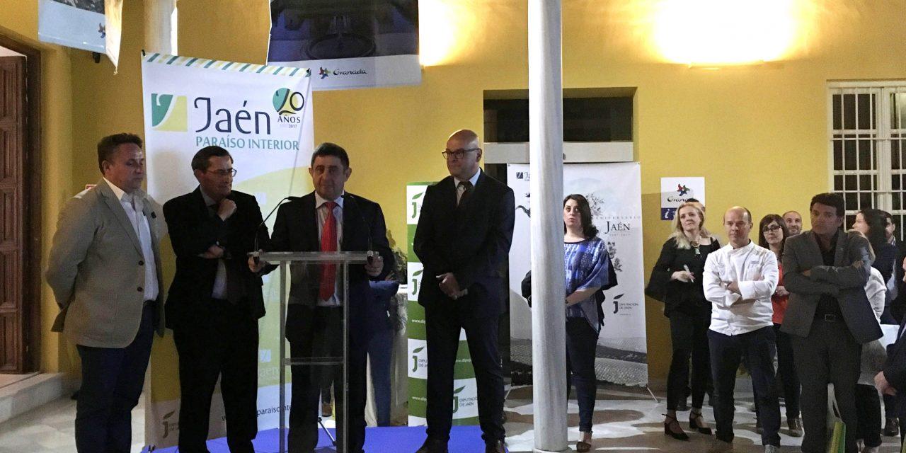 Diputación presenta la oferta turística jiennense a agentes de viajes de la provincia de Granada
