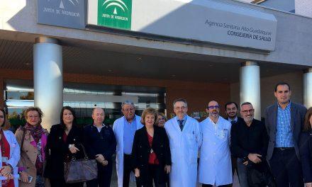La Junta destaca la apuesta del Hospital de Andújar por la atención de calidad, la innovación y la participación ciudadana