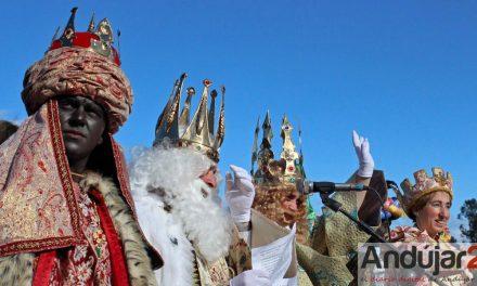Andújar recibe esta tarde la Cabalgata de SS.MM. los Reyes Magos de Oriente