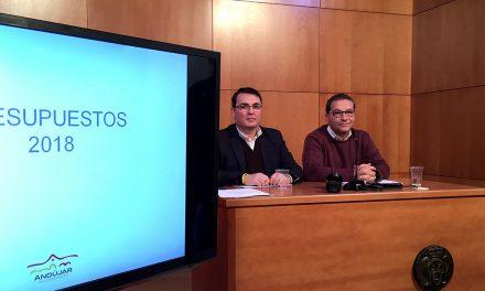 """Paco Huertas: """"Los presupuestos para 2018 reflejan las cifras para seguir transformando la ciudad de Andújar"""""""
