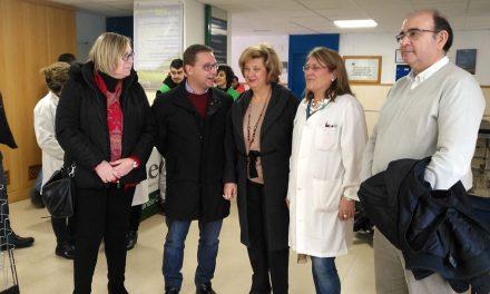 Trabajos de modernización en el centro de salud 'Puerta de Madrid' de Andújar