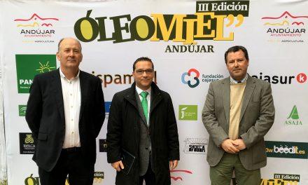 """Andújar inaugura """"Óleomiel 2018"""" con la asistencia de un centenar de profesionales en su primera jornada"""