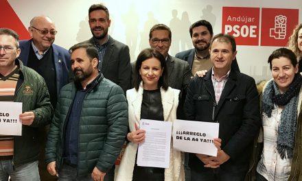 El PSOE pide el arreglo integral de la A-4 y un plan de reindustrialización