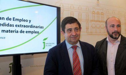 La Diputación destina 77 millones de euros a medidas para generar empleo desde el inicio del mandato