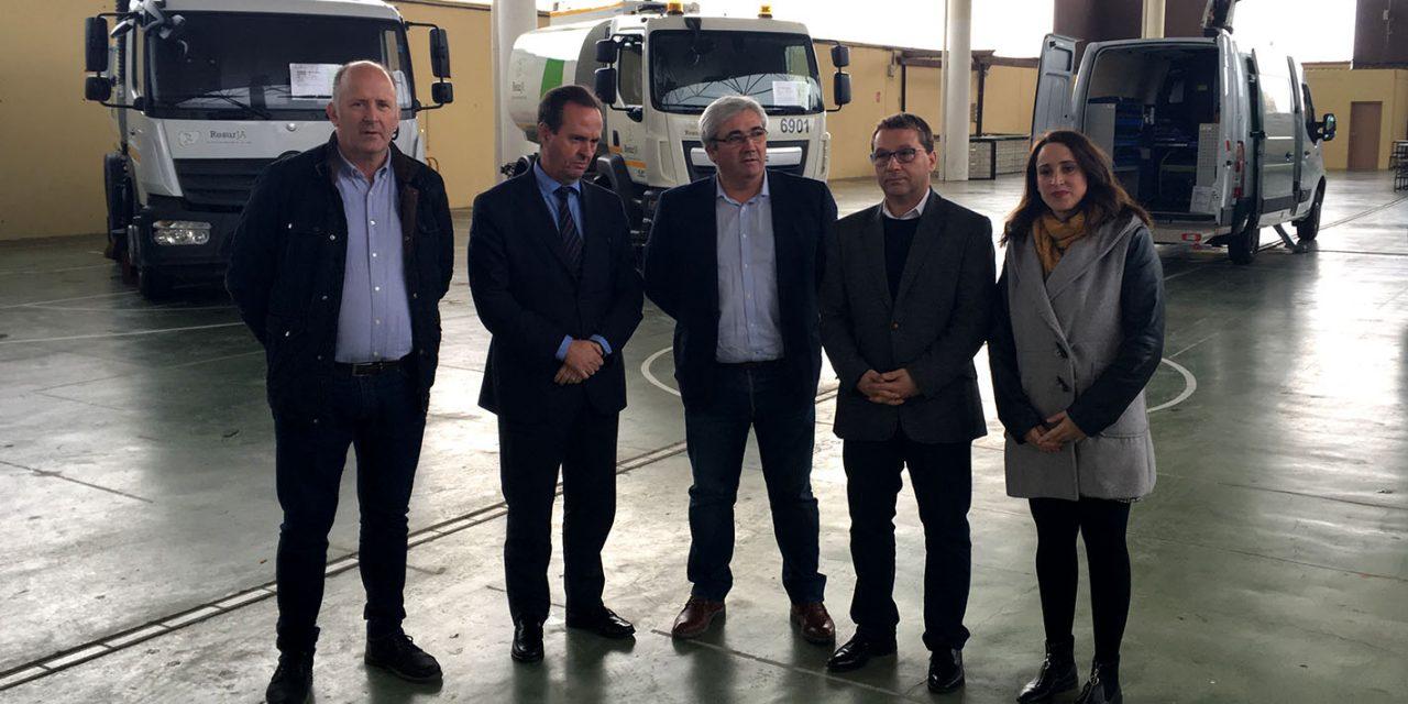El Ayuntamiento de Andújar recibe el premio 'Escoba de Plata' por su gestión en la limpieza viaria