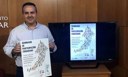 Andújar organiza el 'Seminario de Participación Ciudadana' para analizar las claves de la colaboración asociativa