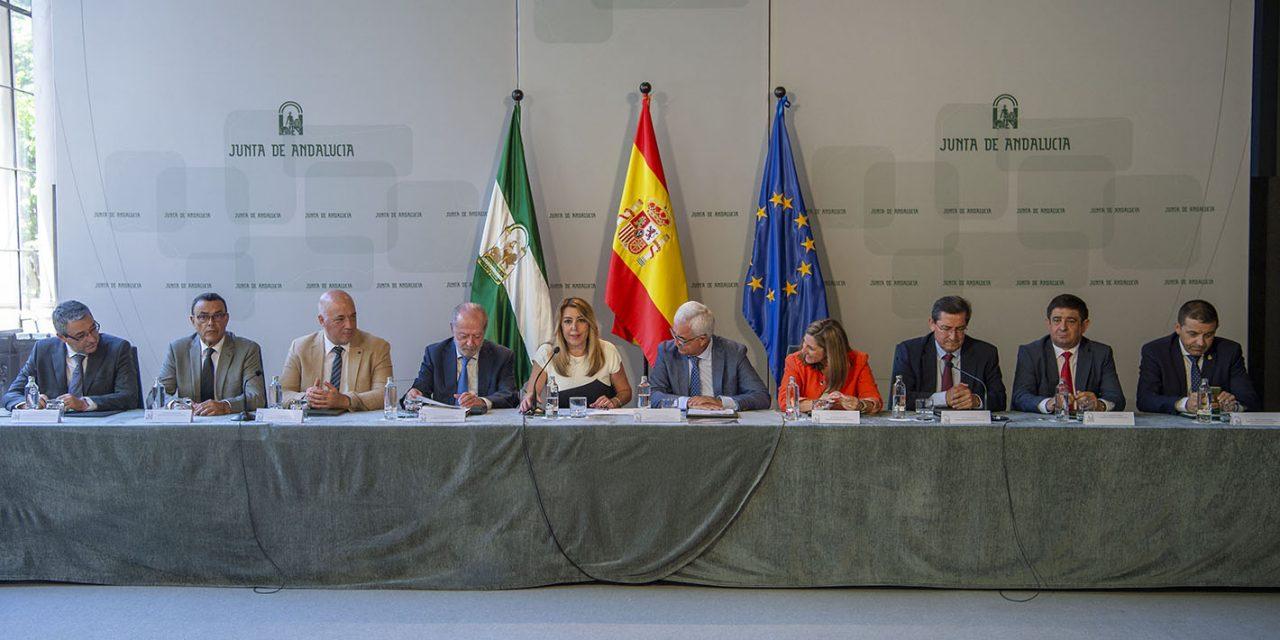 Diputación y Junta destinarán 8,9 millones a la financiación de materiales para obras del PFEA en Jaén