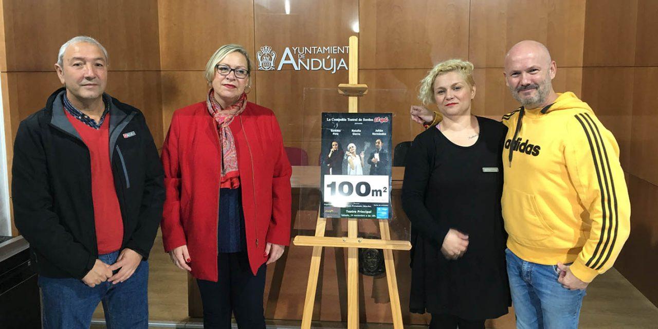 La Compañía Teatral de Sordos 'El Grito' pone en escena el próximo sábado la obra '100m²'