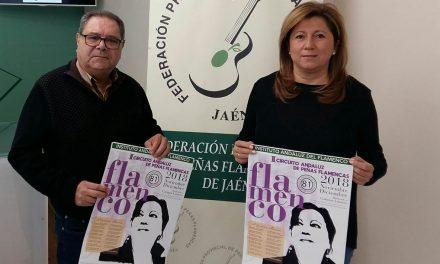 El II Circuito Andaluz de Peñas Flamencas tendrá parada en Andújar
