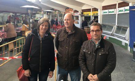 El Ayuntamiento de Andújar inicia los trabajos para la mejora de la climatización en la Plaza de Abastos