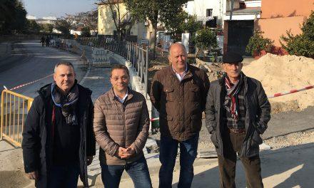 Andújar aborda las obras de mejora en la Ronda de San Julián