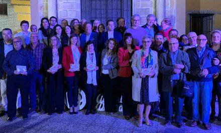 Más de 60 alcaldes, concejales y alcaldes pedáneos socialistas reciben un reconocimiento en Andújar