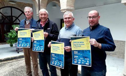 Andújar será escenario de la Fase de Ascenso a 2ª Nacional de Tenis de Mesa