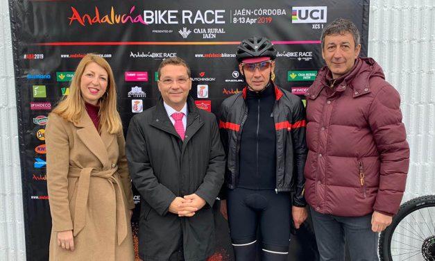 La actividad Andalucía eBike Ride, antesala en Andújar de la Andalucía Bike Race