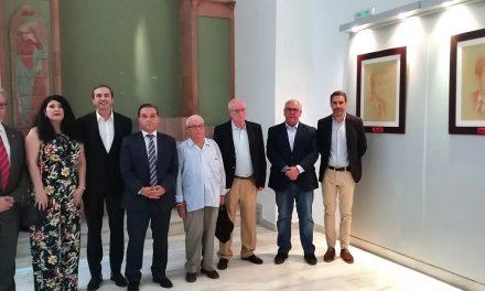 Una muestra con los retratos de los 10 alcaldes andujareños conmemora el 40 aniversario de los ayuntamientos democráticos