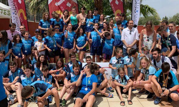 Un total de 120 participantes se citan en Andújar en la primera prueba del XIX Circuito Provincial de Natación