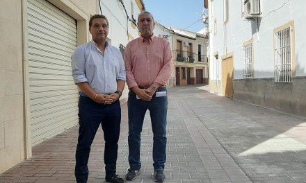 Finalizan las obras de adecuación de la calle Baena