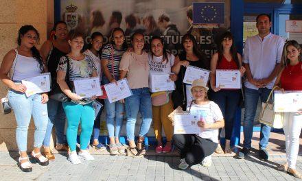 Entregados los diplomas de una de las acciones formativas del EDUSI de Andújar