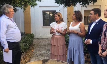Comienza la intervención urgente en el centro de salud del antiguo hospital de Andújar
