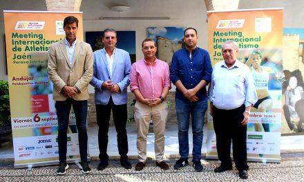 Andújar albergará el Meeting Internacional de Atletismo 'Jaén Paraíso Interior' P