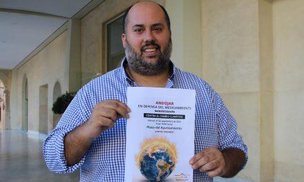 Andújar impulsa una manifestación para concienciar sobre la crisis climática