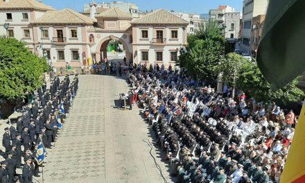 Andújar alberga el acto central de la festividad de los Santos Ángeles Custodios