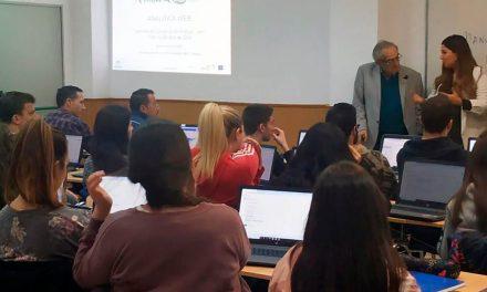 Andújar acoge el curso de Andalucía Lab a empresarios y profesionales turísticos de la provincia sobre Analítica Web