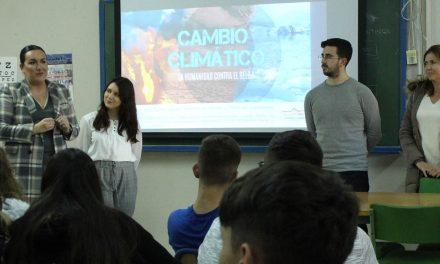 Andújar conciencia a los escolares sobre el cambio climático