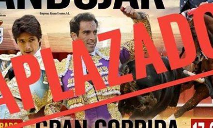CRISIS CORONAVIRUS | El Ayuntamiento de Andújar aplaza el Festejo Taurino hasta que sea seguro su celebración