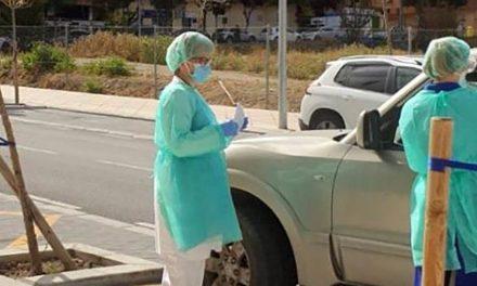 CRISIS CORONAVIRUS | El test para personal esencial sin bajarse del coche desde hoy en Andújar