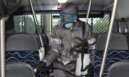CRISIS CORONAVIRUS | La Consejería de Fomento ha implantado medidas especiales de limpieza e higiene en autobuses