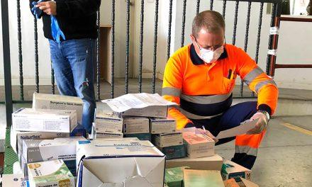CRISIS CORONAVIRUS | Varios centros educativos donan material de protección al Hospital de Andújar