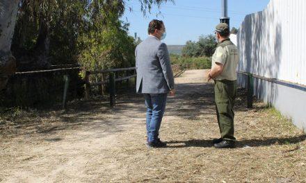 Andújar comienza las labores de desbroce y limpieza en las cunetas de caminos rurales
