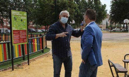 El Ayuntamiento de Andújar prosigue con el Plan de Puesta a punto en diferentes zonas de tránsito y parques de Andújar y sus pedanías