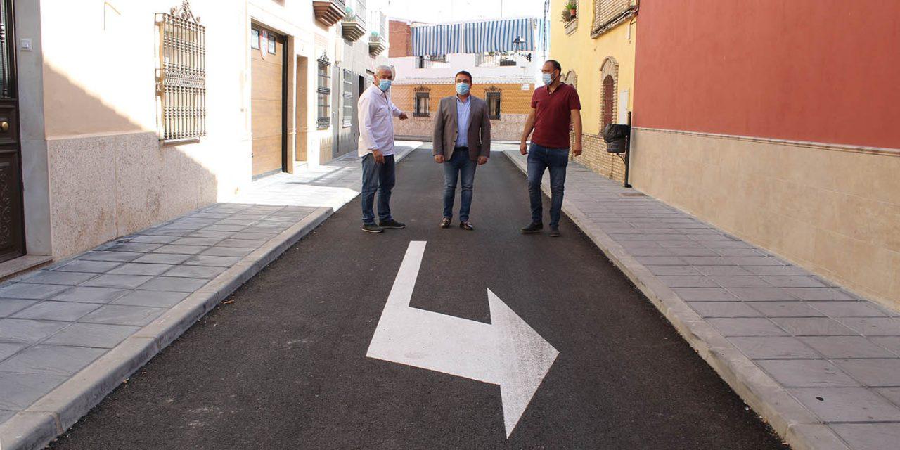 El equipo de gobierno del Ayuntamiento de Andújar mantiene la inversión y prosigue ejecutando mejoras en todos los barrios y pedanías del municipio