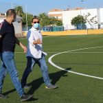 Andújar prosigue su apuesta por el deporte mejorando las instalaciones, accesos e iluminación del campo de fútbol Puerta de Madrid