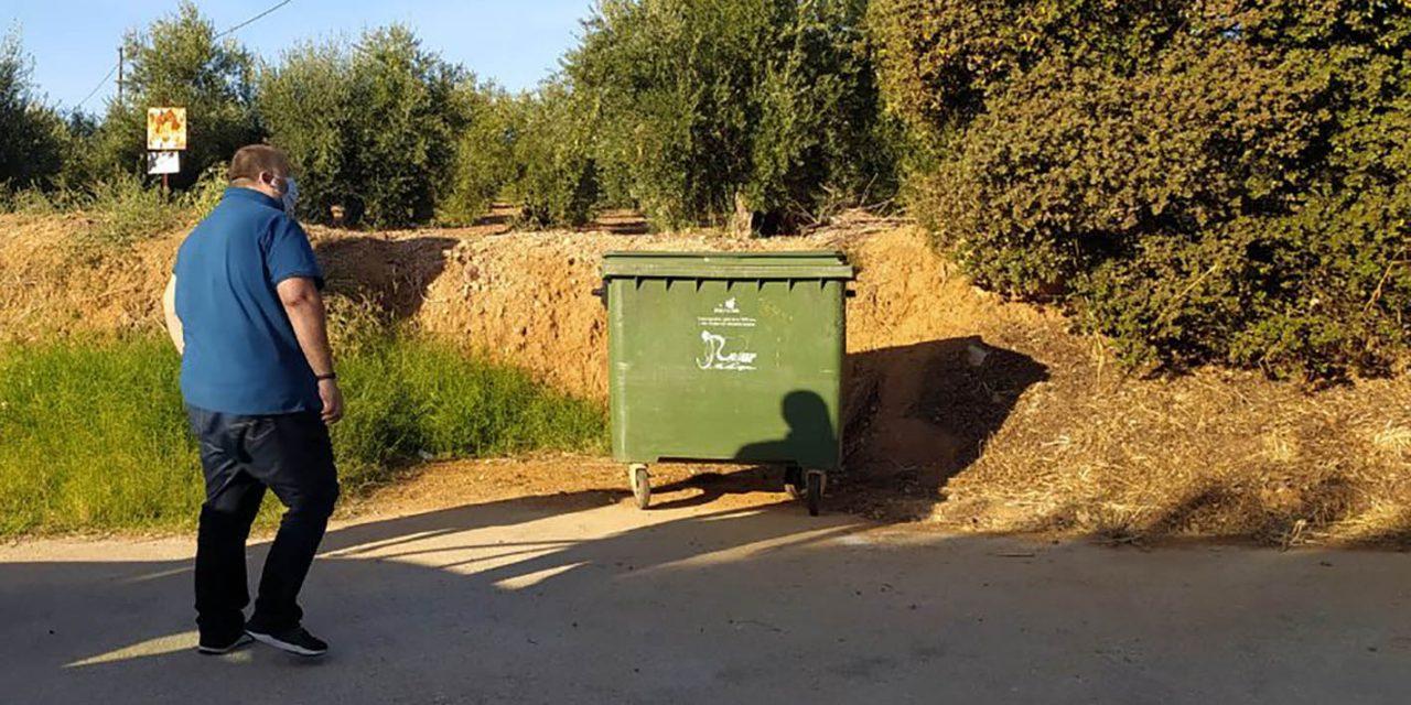 Andújar continúa tomando medidas para mejorar la limpieza de las zonas diseminadas del Municipio