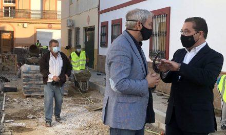 Prosiguen las intervenciones de mejora en el municipio impulsadas por el Ayuntamiento de Andújar