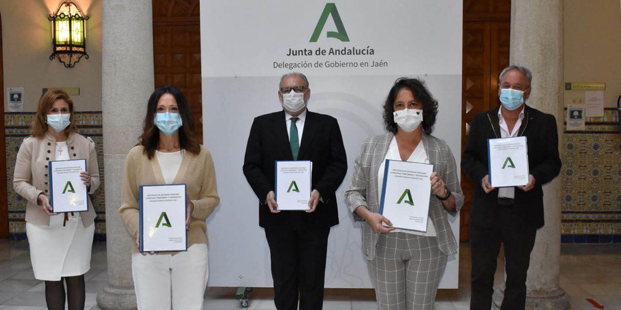 La Junta establece el protocolo de  atención a temporeros en Jaén frente al Covid-19