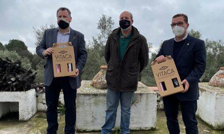 El alcalde, Paco Huertas y el diputado, Pedro Bruno ponen en valor nuevas apuestas empresariales en el Parque Natural  Sierra de Andújar