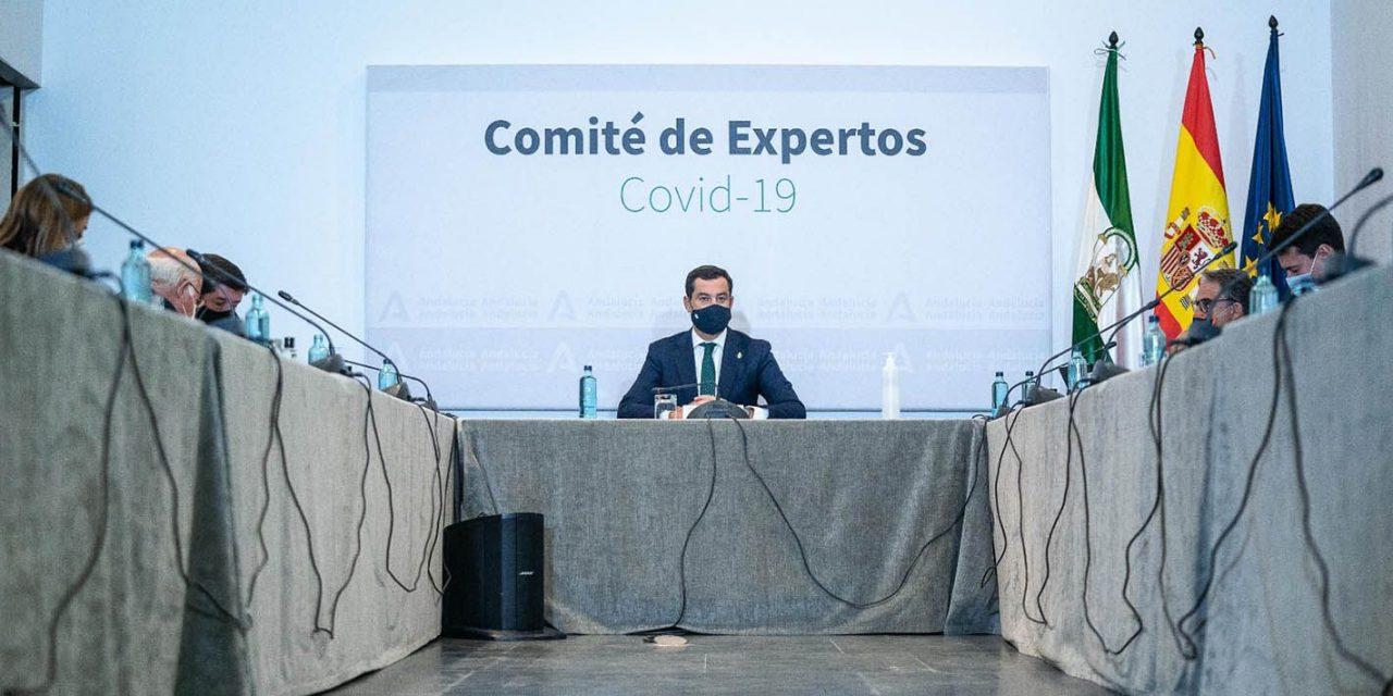 Andalucía amplía el horario del comercio y la hostelería y retrasa el toque de queda a las 23 horas
